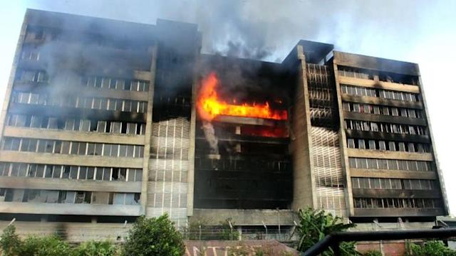 Suspected arson at Bangladesh garment factory