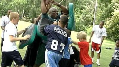 Belhaven Holds Annual Football Camp