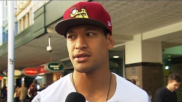 Folau named to make Wallabies debut