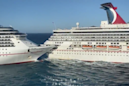 Watch the absurdly slow crash of 2 mammoth cruise ships