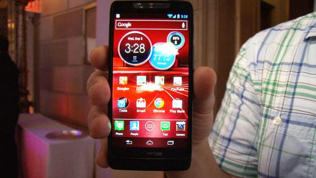 The sweet and svelte style of the Motorola Droid Razr M