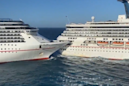 Two cruise ships collide in Mexico forcing passengers to evacuate