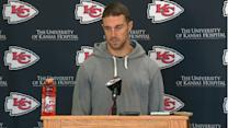 Kansas City Chiefs quarterback Alex Smith on spleen: 'It's a strange thing to be dealing with'