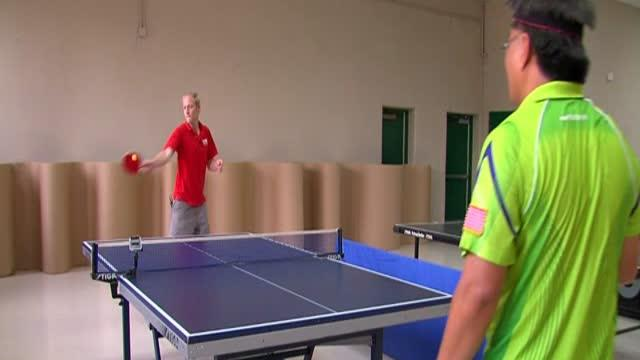 Ping Pong? Table Tennis? Not so easy!