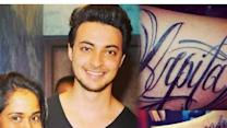 Love gets sealed: Aayush Sharma gets Salman Khan's sister Arpita's name tattooed