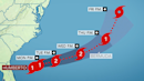 Humberto to track dangerously close to Bermuda this week, possibly as a major hurricane