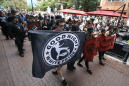 Latest: Anti-fascist demonstrators march in Charlottesville