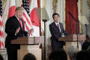 Trump and Japan's Abe at odds over North Korea missile tests