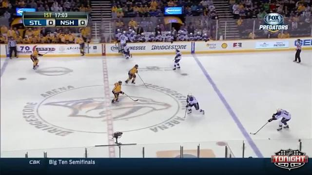 St. Louis Blues at Nashville Predators - 03/15/2014