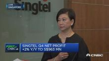 Mobile is slow, but cyber-security business will help company grow, says Singtel group CEO