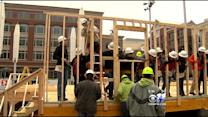 A Grandmother's New Home Goes Up In Sundance Square