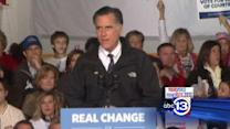 Romney rallies in NH night before Election Day