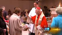 Cardinal George gives Holy Saturday blessing