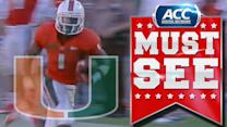 Miami's Allen Hurns Scores On 69-Yard Touchdown Catch | ACC Must See Moment
