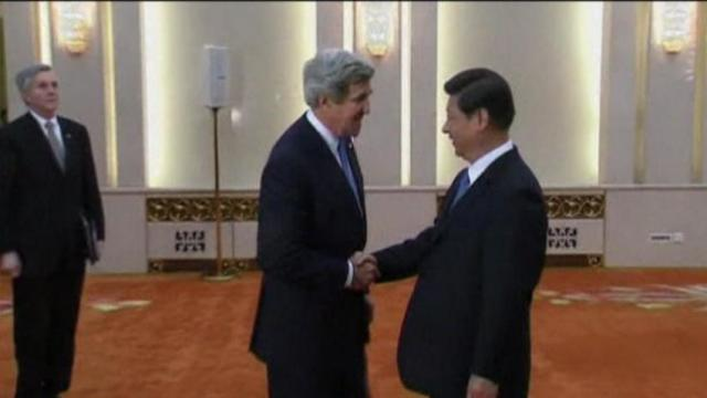 U.S. turns to China to cool Korean conflict