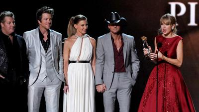 Swift, Strait, Shelton and Lambert Shine at CMAs