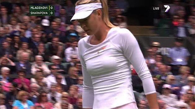 Highlights: Sharapova v Mladenovic
