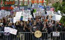 Rallies against Islamic law draw counter-protests across US