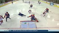 Mikkel Boedker spins to score on Dubnyk