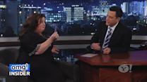 Melissa McCarthy Is a Fashionista in Jimmy Kimmel's Clothes