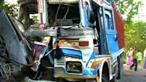 Bus accident in Chhatarpur, 17 dead, 20 injured