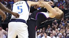 J.J. Barea called out Blake Griffin for flopping after he was ejected for shoving him
