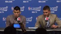 Postgame: Lin and Parsons