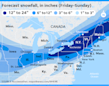More snow! Airlines waive change fees as new storms approach