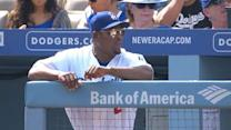Uribe channels Donny, Lasorda