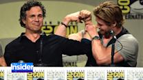 'Avengers' Star Mark Ruffalo Meets His Match at Comic-Con