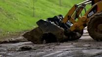 Saturated ground could mean more mudslides