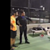 Serena Williams crashed a tennis match and challenged these guys while on a late-night stroll