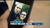 Prince William Goes the Selfie Route