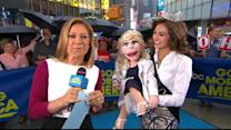 Miss Ohio Brings Ventriloquist Act to 'GMA' Weather