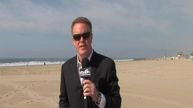 Dave Furst roughs it in L.A. weather