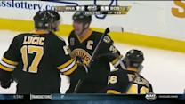 Zdeno Chara ties it up late with PPG