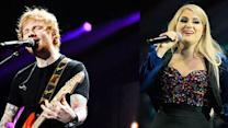 Ed Sheeran and Meghan Trainor on Their Reactions to Grammy Nominations