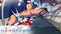 Microsoft's Holodeck, PS Store Online and the Skullgirls Super Patch! - Hard News Clip