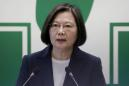 Taiwan president visits air defence battery as China tensions rise