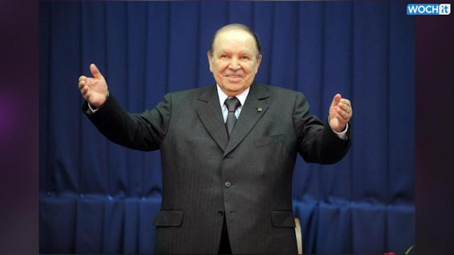 Algeria's Ailing Bouteflika Wins Re-election