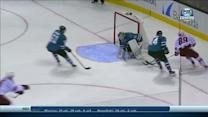 Mikkel Boedker scores from tough angle