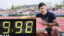 Sprinter Kiryu offers Japan 2020 hopes by dipping under 10