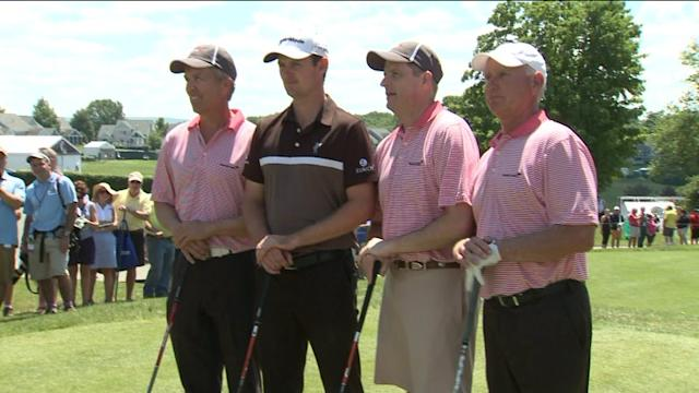 Justin Rose Prepares For The Travelers Championship