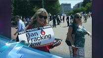 Daryl Hannah Delivers 600,000 Anti-Fracking Signatures To Obama Administration