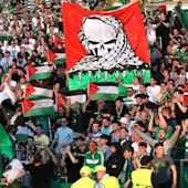 Scottish football fans have raised £100,000 for Palestinian charities after their pro-Palestine protest