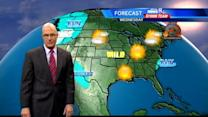 Weather for Thanksgiving travel good in most areas