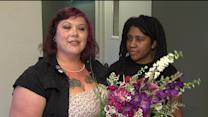Same-Sex Couples Now Enjoying Marriage Benefits