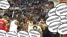Damian Lillard taunted by Bucks fans chanting 'SoundCloud rapper' during free throws