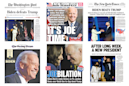How newspapers around the world covered Biden's win