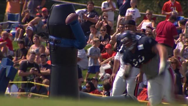 Training camp begins for Chicago Bears at Bourbonnais